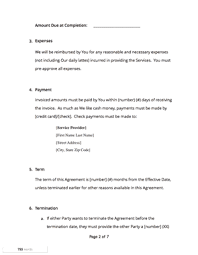 Free Service Contract Template Service Contract Template Free Download Docsketch
