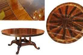 72 inch round mahogany dining table