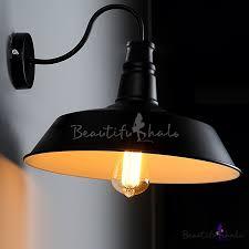 14 wide single light down lighting gooseneck barn wall light beautifulhalo com