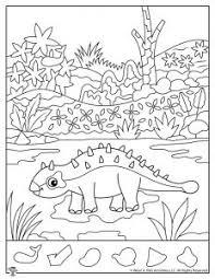 Printable coloring for kids, dog activity coloring pages, kids puppy coloring sheets (12 pages). Dinosaur Hidden Pictures Activity Printables Woo Jr Kids Activities
