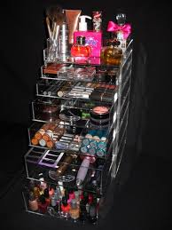 large acrylic makeup organizer photo 1