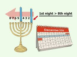 When Do You Light The First Hanukkah Candle 2017 How To Light A Chanukah Menorah 15 Steps With Pictures