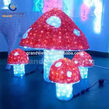 diy led acrylic outdoor decoration mushroom lights view garden htb16qztipxqxpq6fxe solar outdoor mushroom