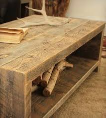 Reclaimed Wood Coffee Table Diy DIY Reclaimed Wood Coffee Table |  Shelterness Reclaimed Wood Coffee Table