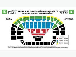 Hedley Cageless Tour Td Place Feb 20 Two Lower Bowl Center