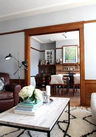 Drop That Paintbrush  Wonderful Uses Of Wood Trim Apartment - Dining room paint colors dark wood trim