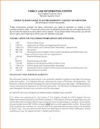declaration form mc 030 4 law forms divorce document