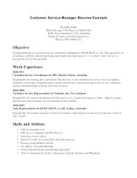 Customer Service Objectives For Resumes Best of Good Objectives For Resume Sample Career Objectives For Resume
