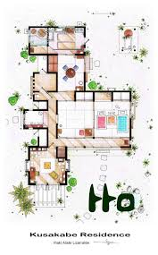 TV Floorplans  How The Apartments In Your Favourite Shows Are Tv House Floor Plans