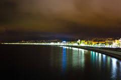 Hasil gambar untuk promenade nice france night