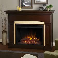 real flame holbrook 59 in grand series electric fireplace in dark walnut