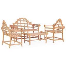 garden patio table chair bench