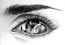 eyes drawings eye drawing of how we see london drawings art drawings art