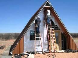 Bedroom Ideas  A Frame Cabin Plans Kits Log Small Floor Loft A Frame House Kit