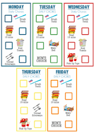 Free Clipart For Kids Chore Charts Free Images At Clker