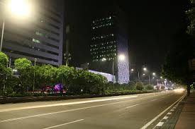 jakarta gets philips led street lights and city touch system