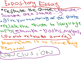 expository essay how to write a expository essay