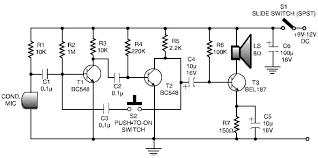 transistor intercom system circuit diagram electrical concepts transistor intercom system circuit diagram