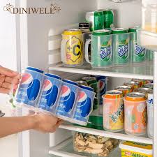 refrigerator racks. diniwell pp refrigerator organizer beer coke shelf racks kitchen drinks storage holder cans receive basket save