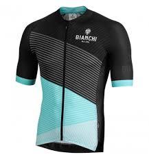 Bianchi Milano Bisceglie Mens Short Sleeve Jersey 2019