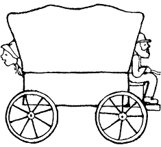 black and white covered wagon. pin pioneer clipart covered wagon #2 black and white c