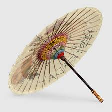 gucci umbrella. gucci coco capitán print chinese umbrella detail 2