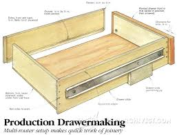 making wooden drawer slides drawer construction jig making wood drawers woodworking making drawer slides