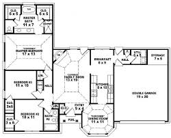 4 bedroom one story house plans fresh with images of 4 bedroom concept on