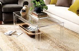 how to clean acrylic furniture accessories