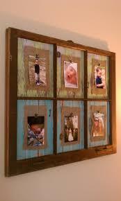 Wooden Window Frame Crafts 138 Best Old Windows Images On Pinterest Vintage Windows Old