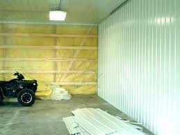 interior garage walls wall finishing ideas covering perfect corrugated metal plastic within plywood makeover pictures kids