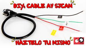 diy cable av sjcam háztelo tu mismo sj5000 sj4000 xiaomi yi diy cable av sjcam háztelo tu mismo sj5000 sj4000 xiaomi yi