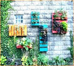 outdoor wall art ideas garden designs