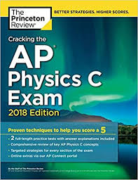 Ap Physics C Formula Chart Amazon Com Cracking The Ap Physics C Exam 2018 Edition