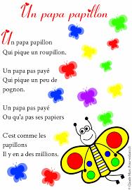 Dessin De Poesie Les Papillons