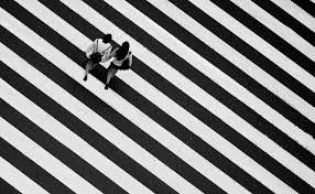 leading lines photography. Zebra Crossing Lines Leading Photography E