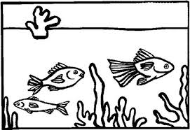 Small Picture Fish In Aquarium Coloring Pages Coloring Pages