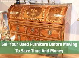 sell used furniture before moving2