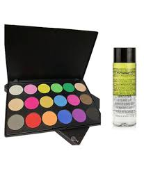 mac cosmatics 18 shade palette makeup remover makeup kit 150 gm mac cosmatics 18 shade palette makeup remover makeup kit 150 gm at best s in