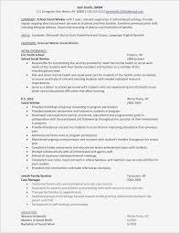 Elegant Social Work Resume Sample Samples Social Work Resume
