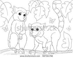 Small Picture Coloring Pages Mother Quokka Her Little Stock Vector 602912759
