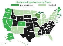 states legal cannabis
