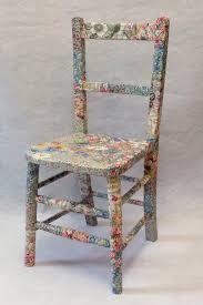 decoupage furniture ideas. arabella childu0027s chair fabric decoupage furniture upcycled recycled homewares uk ideas