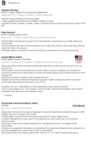Resumes For Current College Students Best Resume Templates Best