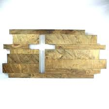 wood cross for wall wooden decor image 0 white rustic diy crosses art rustic wooden cross