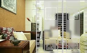 Modern Design Living Room Glass Door Divider Gucci Wooden Furniture