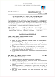 Template Accounting Resume Template Templates Microsoft Word Doc
