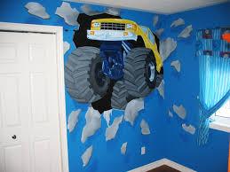 monster truck room