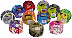 Duct Tape Patterns Mesmerizing Scotch Brand Printed Duct Tape Patterns DuctTape Duct Tape