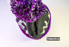 Купить зиманюю <b>шапку MISHKA</b> сереневую <b>Keep watch</b> с ...